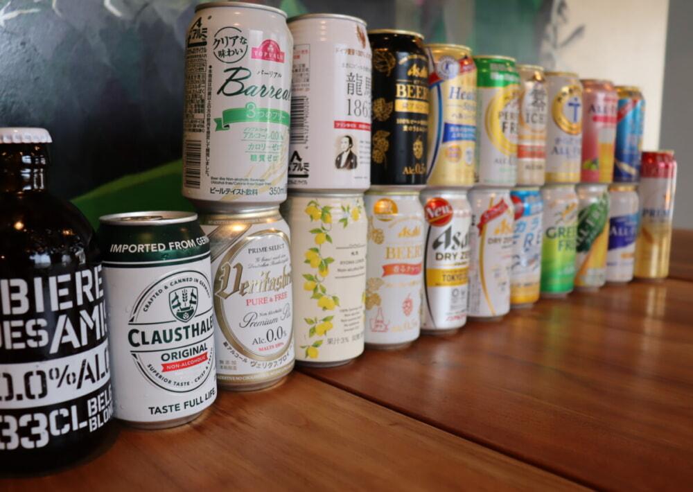 【2021年 夏】微アル・ノンアルコールビール★21本レビュー&ランキング!
